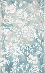 Trans-Ocean Jadu Floral 7803/04 Aqua Area Rug