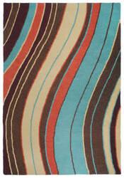 Trans-Ocean Lalunita Wave 6034/44 Multi Area Rug