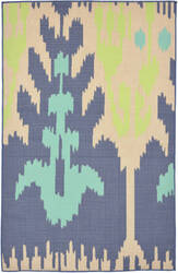 Trans-Ocean Playa Ikat 1359/33 Cool Area Rug