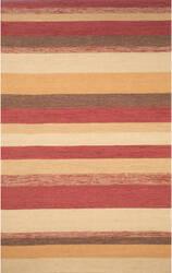 Trans-Ocean Ravella Stripe 1900/24 Red Area Rug