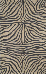 Trans-Ocean Ravella Zebra 2033/48 Black Area Rug