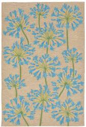 Trans-Ocean Ravella Desert Lily 2273/03 Bluebell Area Rug