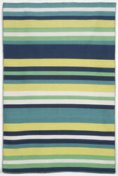 Trans-Ocean Sorrento Tribeca 6301/06 Green Area Rug