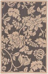 Trans-Ocean Terrace Floral 1779/77 Charcoal Area Rug