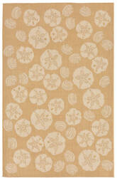 Trans-Ocean Terrace Shell Toss 1790/22 Almond Area Rug
