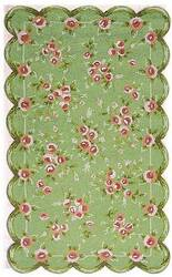 The Rug Market America Kids Emily 11291 Green/pink Area Rug