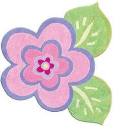 The Rug Market America Kids My Pretty Flower 11425 Pink/green/purple Area Rug