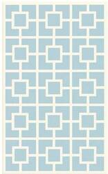 The Rug Market America Kids Labyryith 11519 Blue/white Area Rug