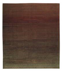 Tufenkian Shakti Flip Side Charcoal Rust Area Rug