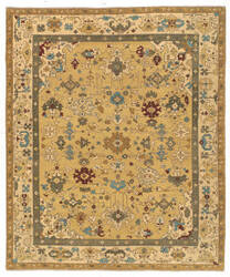 Tufenkian Tab Herat Canary Song Sheared Area Rug