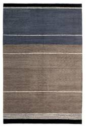 Tufenkian Kotana Loop Stripe Graphite Area Rug
