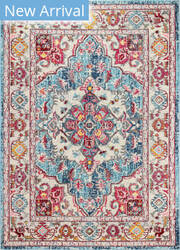 Bashian Dakota Mh107 Teal Area Rug