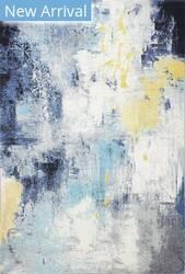 Bashian Everek E110-5570a Ivory - Blue Area Rug