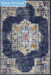 Bashian Mayfair M147-Mr609 Dark Blue Area Rug