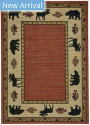 Capel Cottage Grove 2365 Persimmon Area Rug