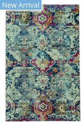 Capel Benz-Adana 3821 Navy Area Rug