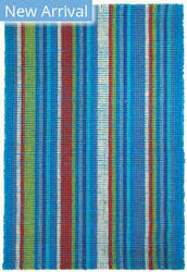 Classic Home Bermuda Stripe 3007410 Ocean Breeze Area Rug