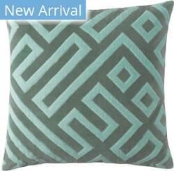 Company C Maze Pillow 10832 Jade