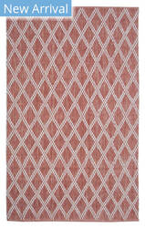 Company C Harlequin 10929 Newport Red Area Rug