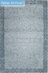 Company C Colorfields Mayan 10956 Blue Area Rug