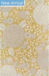 Company C Colorfields Sachi 19307 Gold Area Rug