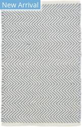 Rugstudio Sample Sale 145789R Swedish Blue - Ivory Area Rug