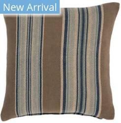 Dash And Albert Blue Heron Pillow Stripe Blue Area Rug