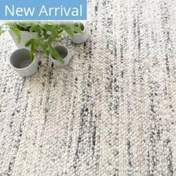 Dash And Albert Cobblestone Woven Grey Area Rug