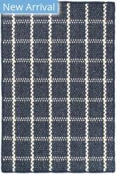 Dash And Albert Framework Woven Indigo Area Rug