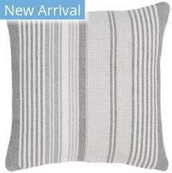 Dash And Albert Gradation Pillow Ticking Grey Area Rug