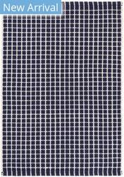 Dash And Albert Gridiron Indoor - Outdoor Navy Area Rug