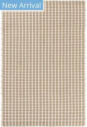 Dash And Albert Gridiron Indoor - Outdoor Wheat Area Rug