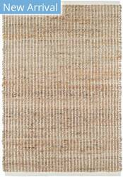 Dash And Albert Gridwork Woven Ivory Area Rug