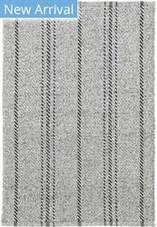 Dash And Albert Melange Stripe Grey - Black Area Rug