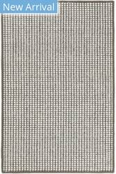 Dash And Albert Pixel Woven Grey Area Rug