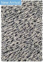 Dash And Albert Seurat Woven Grey Area Rug