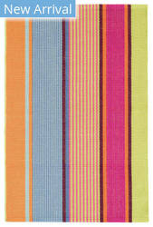 Dash And Albert Tahiti Stripe Multi Area Rug