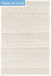 Dash And Albert Zhara Stripe Ivory Area Rug