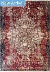 Eastern Rugs Galaxy 42130 Red Area Rug