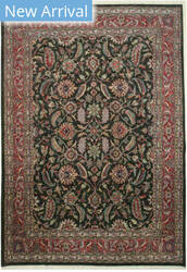Eastern Rugs Kashan 9178 Black Area Rug