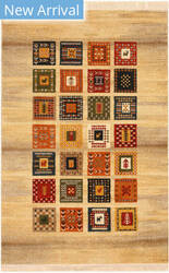 Eastern Rugs Gabbeh Do10iv Beige Area Rug