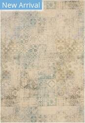Eastern Rugs Moderno Mosaic Fl17gn Green Area Rug