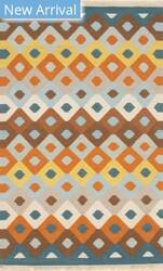 Eastern Rugs Indoor-Outdoor Kilim Ie303mu Multi Area Rug