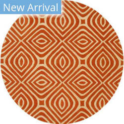 Eastern Rugs Marla Me106or Orange Area Rug