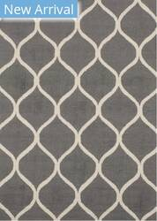 Eastern Rugs Moroccan Me1gy Gray Area Rug