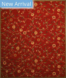 Eastern Rugs Euro Home Os560 Red Area Rug