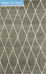 Eastern Rugs Moroccan Sht22gy Gray Area Rug