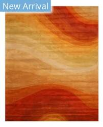 Rugstudio Sample Sale 142683R Orange Area Rug