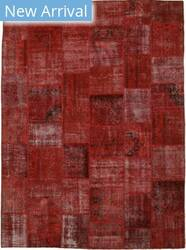 Eastern Rugs Turkish Patch X35928 Red Area Rug