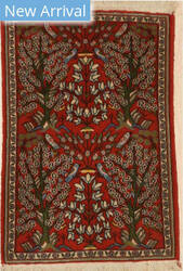 Eastern Rugs Kashan X36046 Red Area Rug